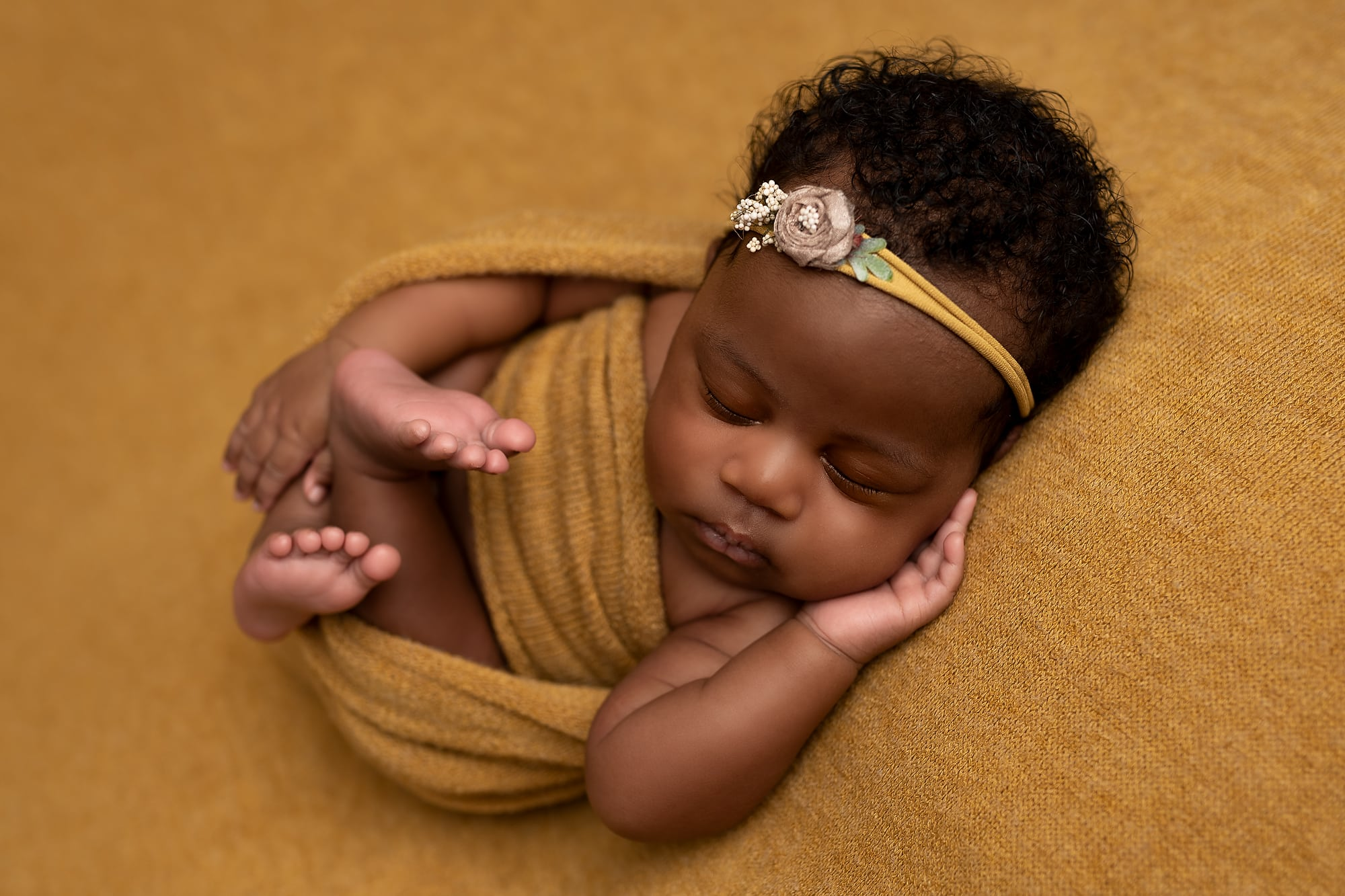 Newborn Baby Girl - Tianna J-Williams Photography