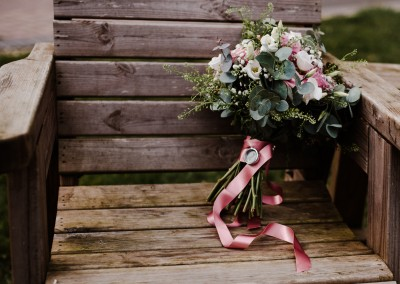 Bridal Flowers Wootton Park Getting Ready Bridal Prep Tianna J-Williams Wedding Photography