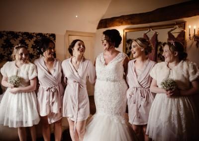 Wootton Park Getting Ready Bridal Prep Tianna J-Williams Wedding Photography