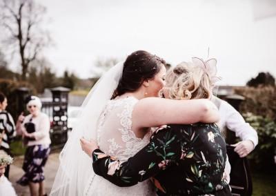 Just Married Church Wedding Tianna J-Williams Wedding Photography