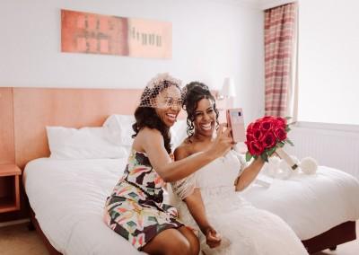 Bridal Preparations Tianna J-Wlliams Wedding Photography