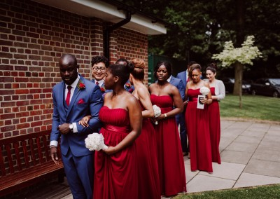 Bridesmaids and Groomsmen Tianna J-Williams Wedding Photography
