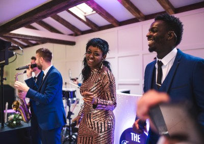 Reception Entertainment Live Band Tianna J-Williams Wedding Photography