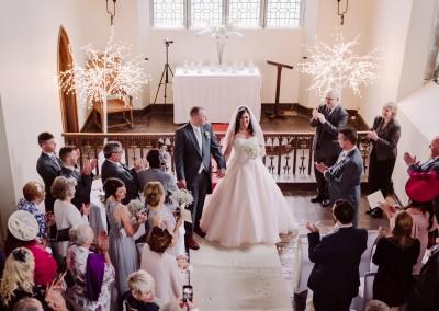 The Ceremony at the Churst Tianna J-Williams Wedding Photography