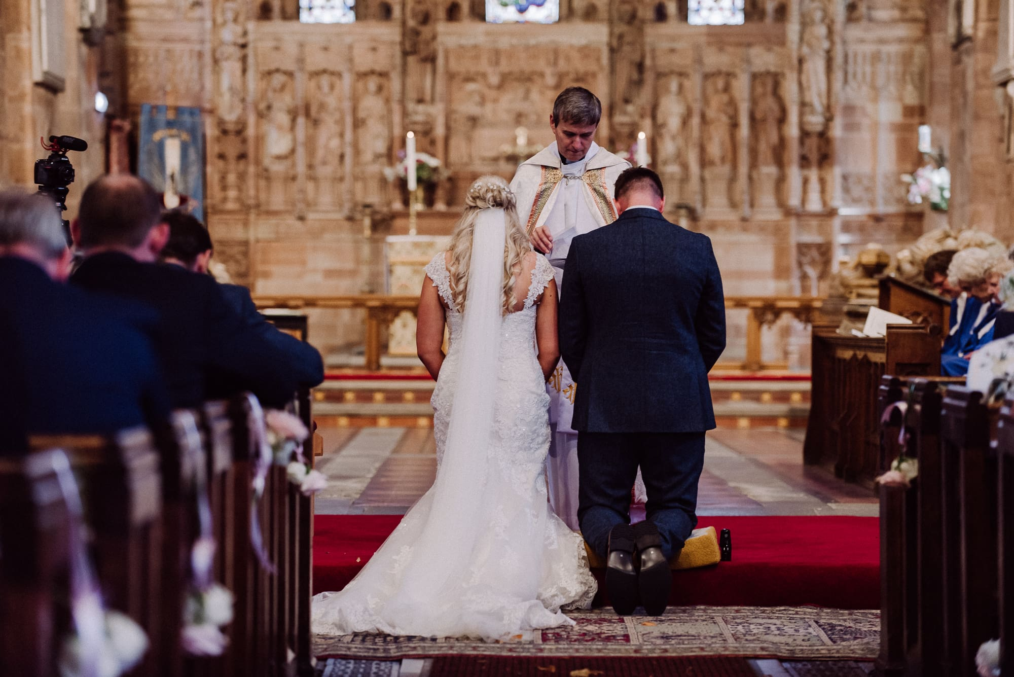 Church Wedding Prayers Somerford Hall Tianna J-Williams Photography