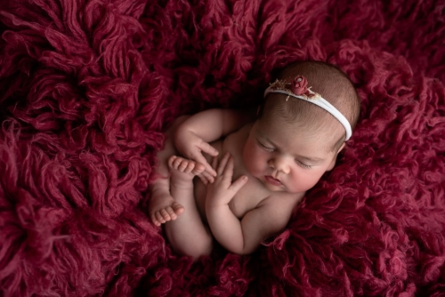 Newborn baby photography pose Tianna J-Williams Photography