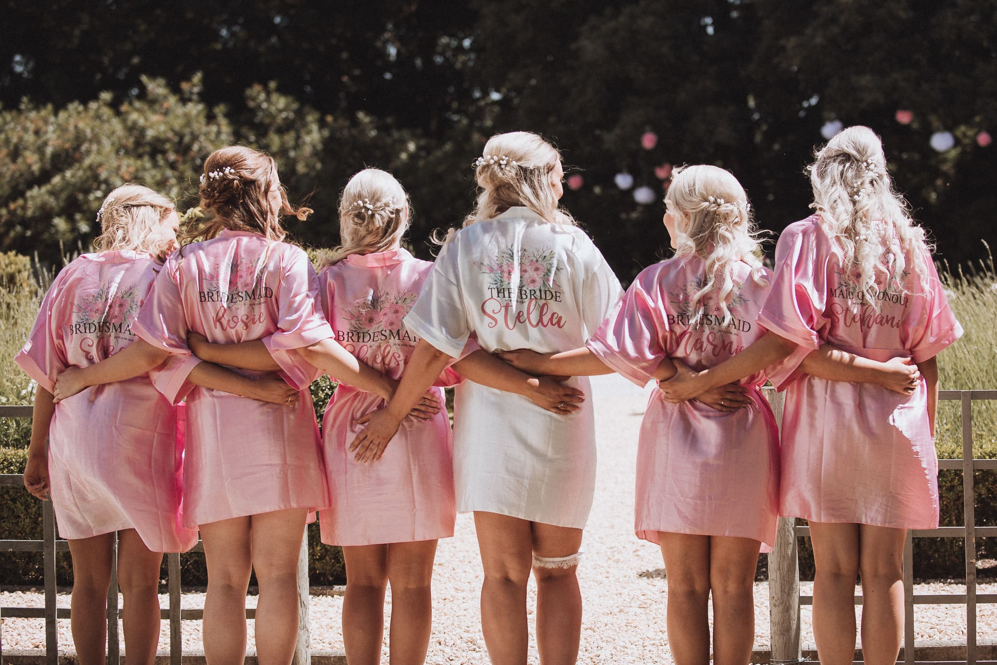 Bridal Prep Dressing Gowns Tianna J-Williams Photography